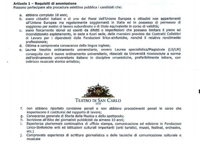 bando addetto stampa teatro san carlo napoli-2