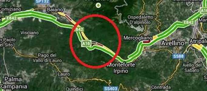 avellino incidente bus-3