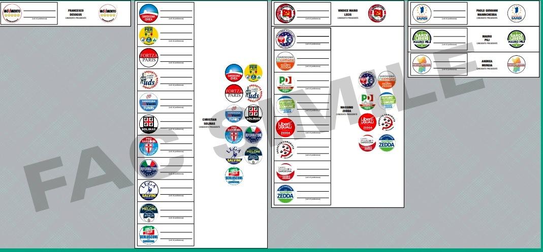 elezioni sardegna facsimile scheda elettorale-2