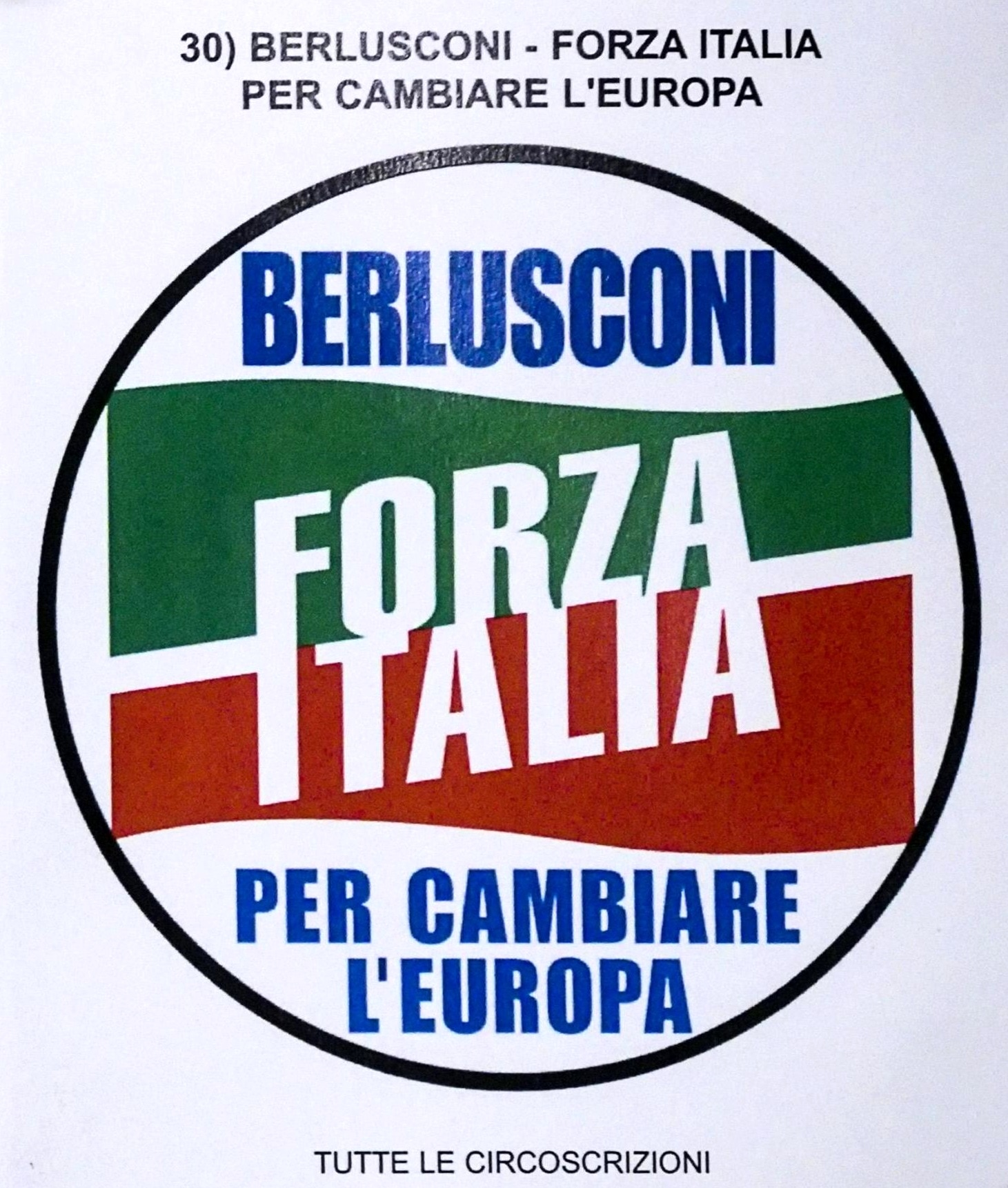 forza italia elezioni europee