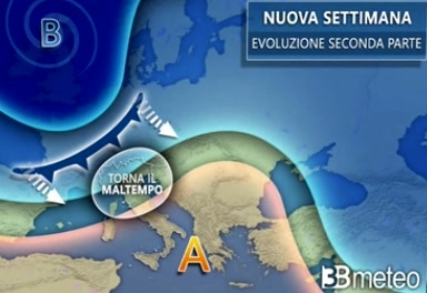 previsioni meteo 18 - 21 gennaio 2021-2