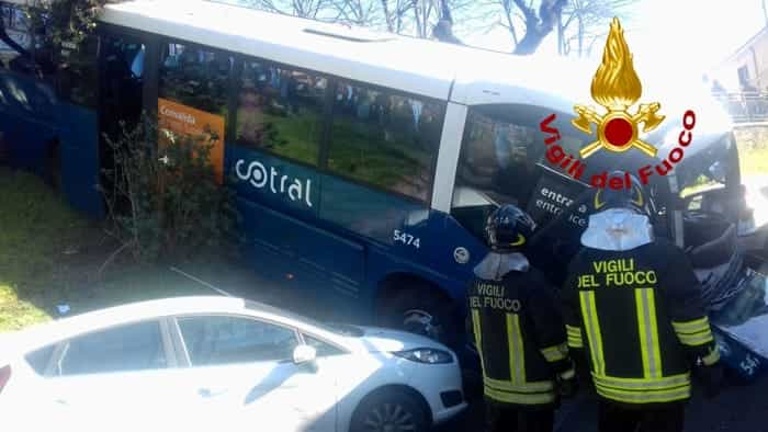Incidente bus Cotral Grottaferrata 1-2