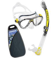 Maschera con set per Immersioni e Snorkelling-2