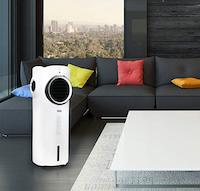 Ventilatore con sistema di filtrazione
