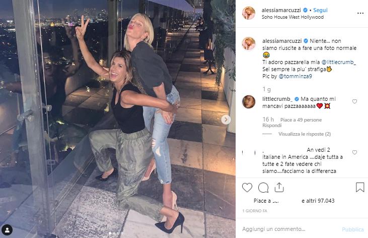 marcuzzi canalis vacanza los angeles instagram-2
