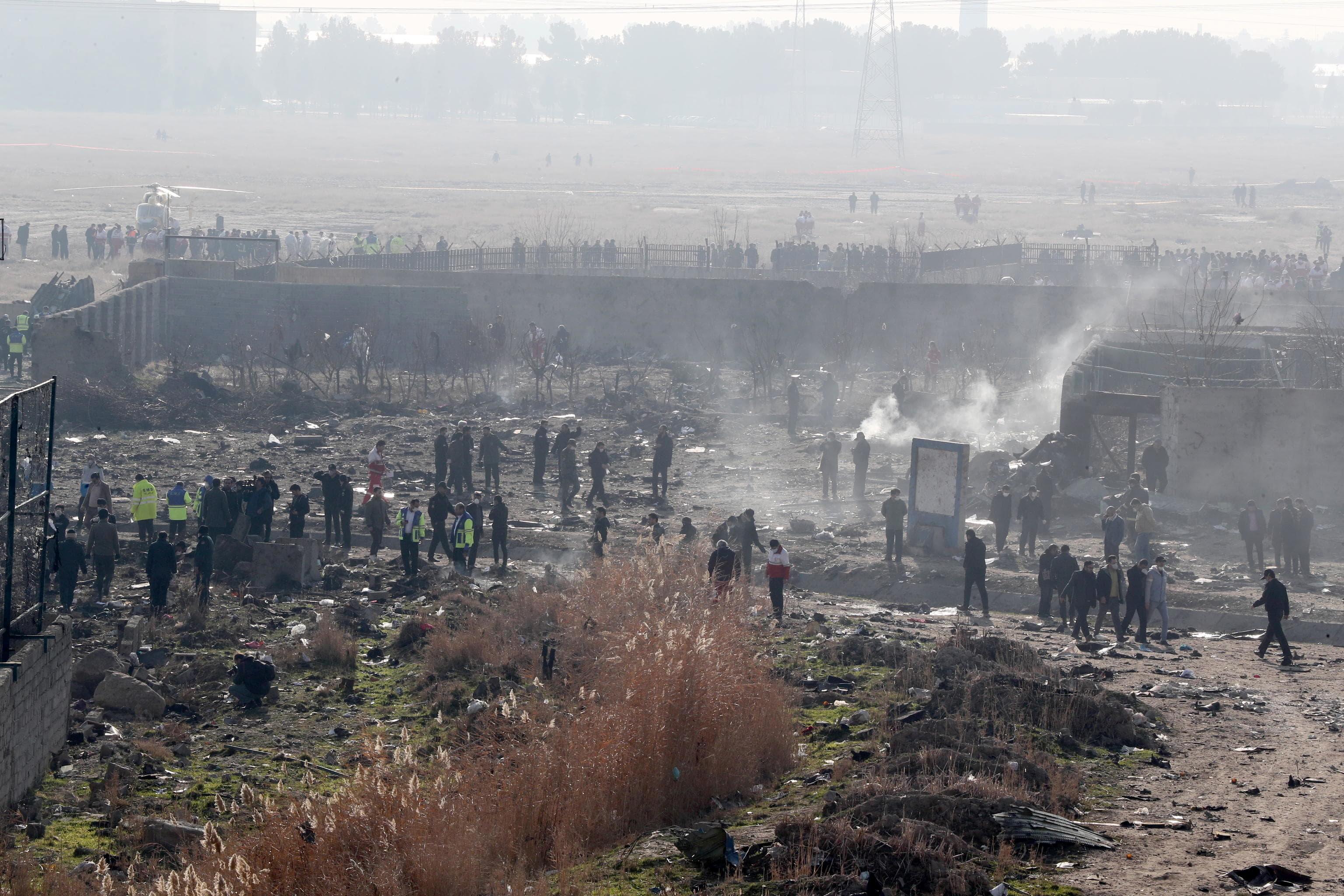 incidente aereo abbattuto iran ansa-2