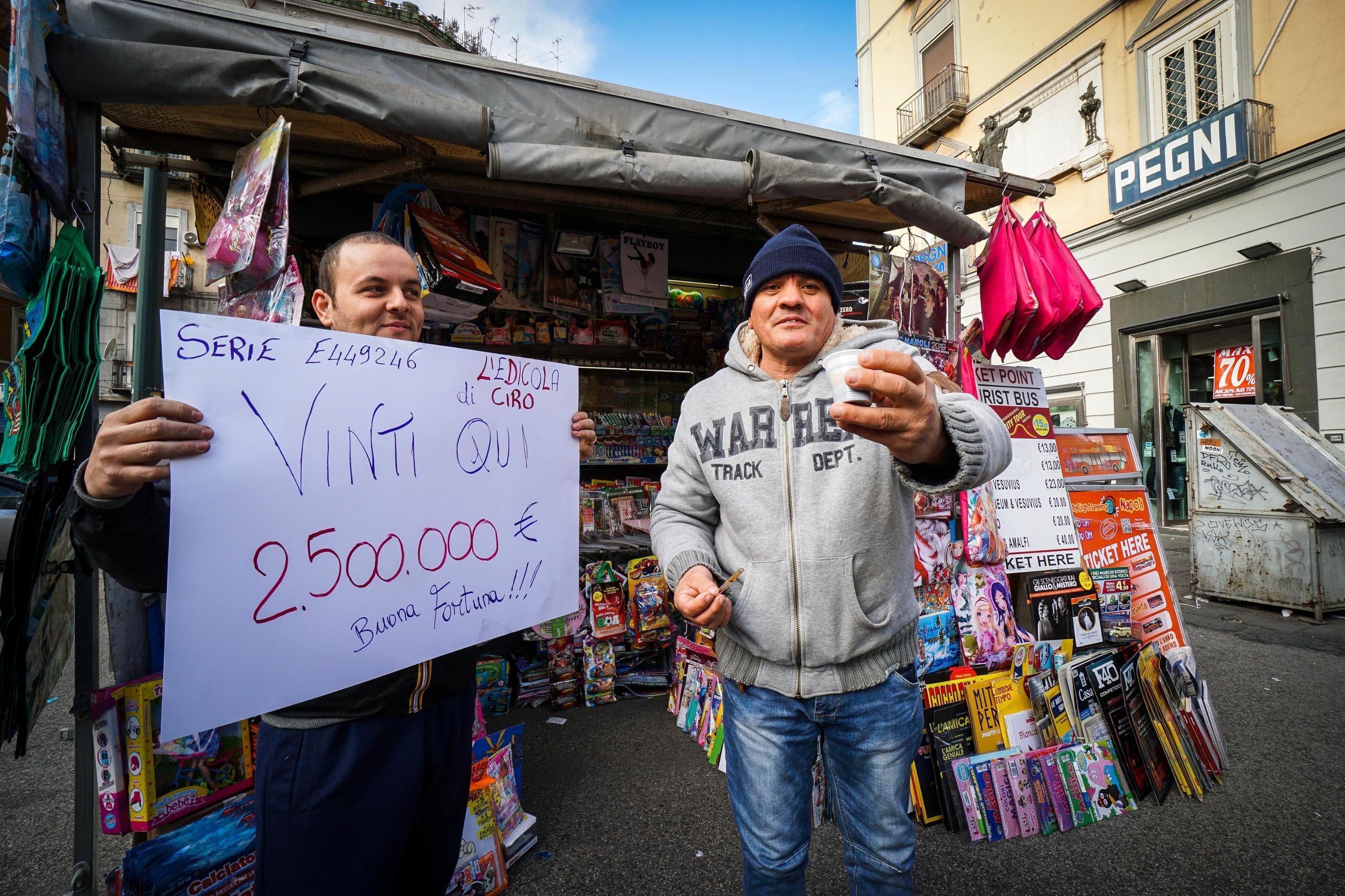 Lotteria Italia 2018, secondo premio ANSA-2