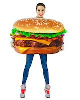 Costume hamburger