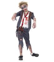 Costume scolaro zombie