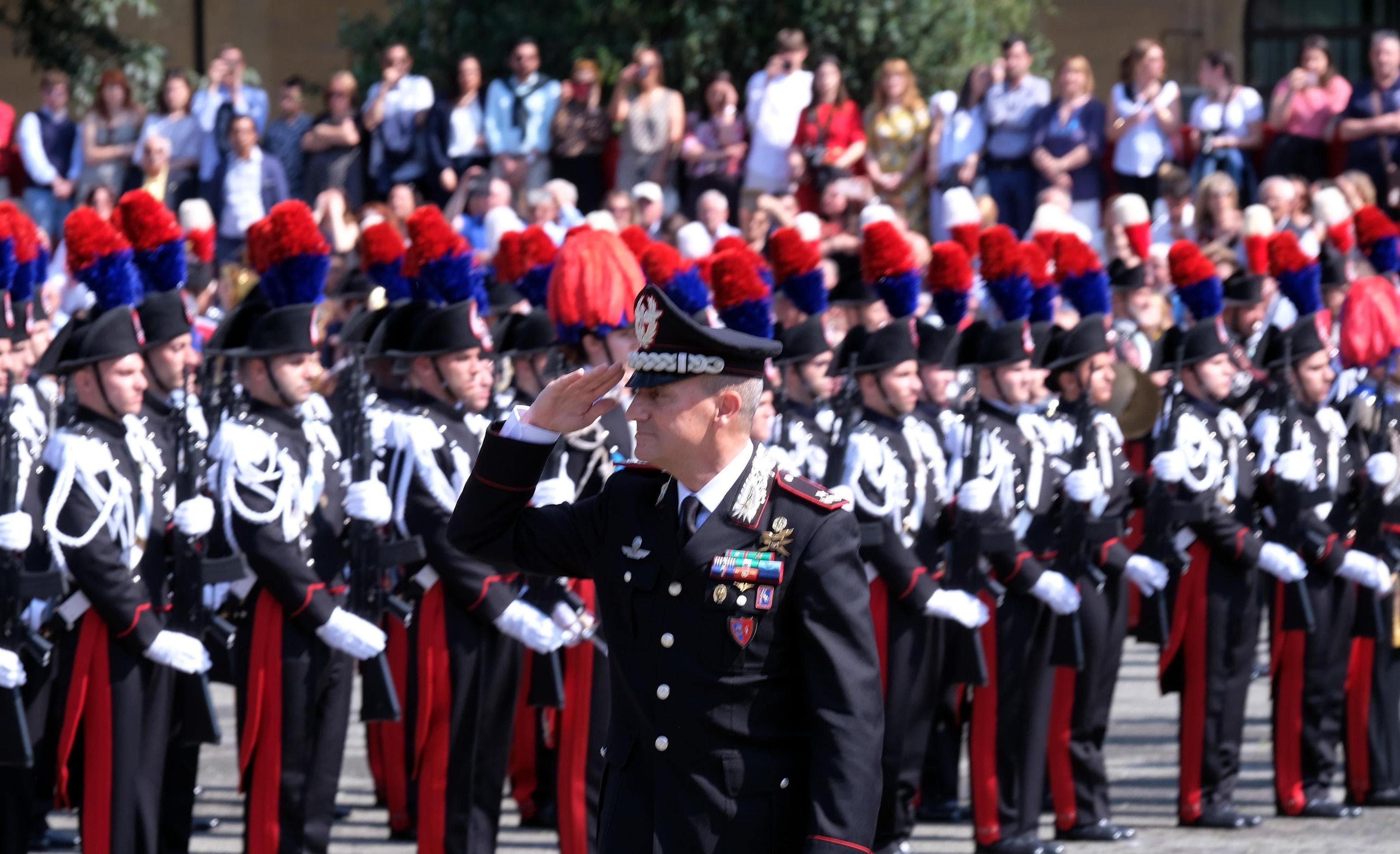 giuramento carabinieri ansa-2