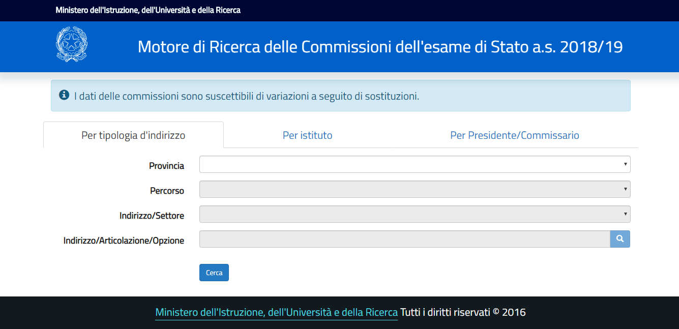 maturità 2019 ricerca nomi commissari esterni-2