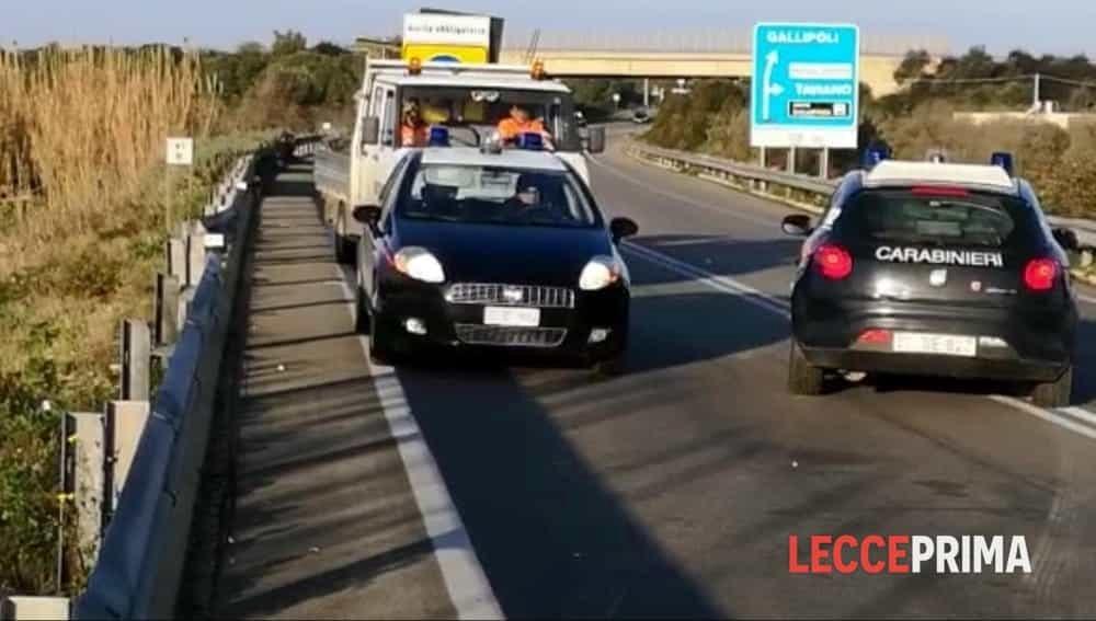 Taviano (Lecce), incidente nella notte: morte due donne