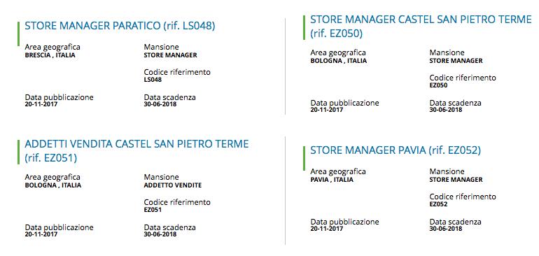 Offerte lavoro | Assunzioni MD | Posizioni aperte in tutta ...
