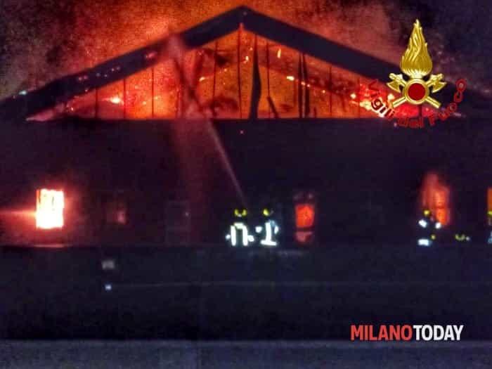 Incendio Coop via Palmanova 1