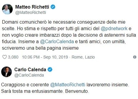 richetti calenda