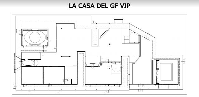 la casa di gf vip-2
