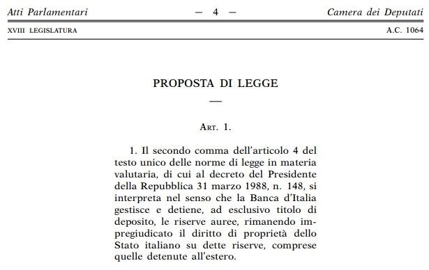 proposta legge riserve auree-2