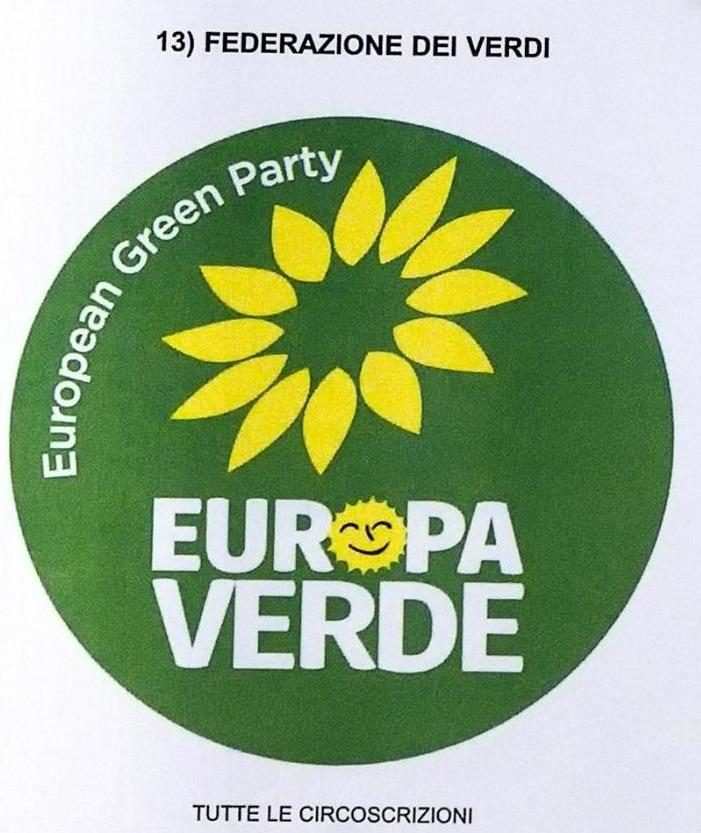 europa verde verdi elezioni europee