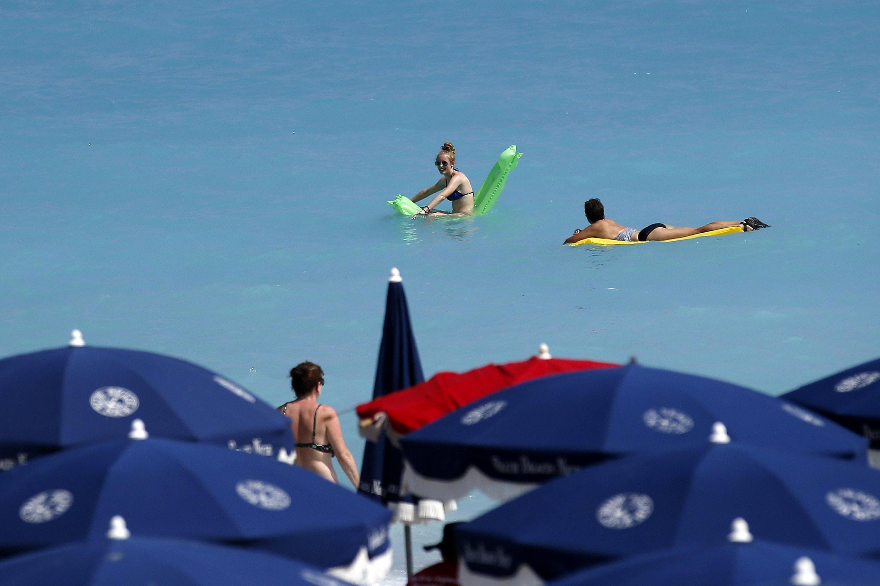 Meteo, sole, spiaggia. Quando arriva il caldo. ANSA-2