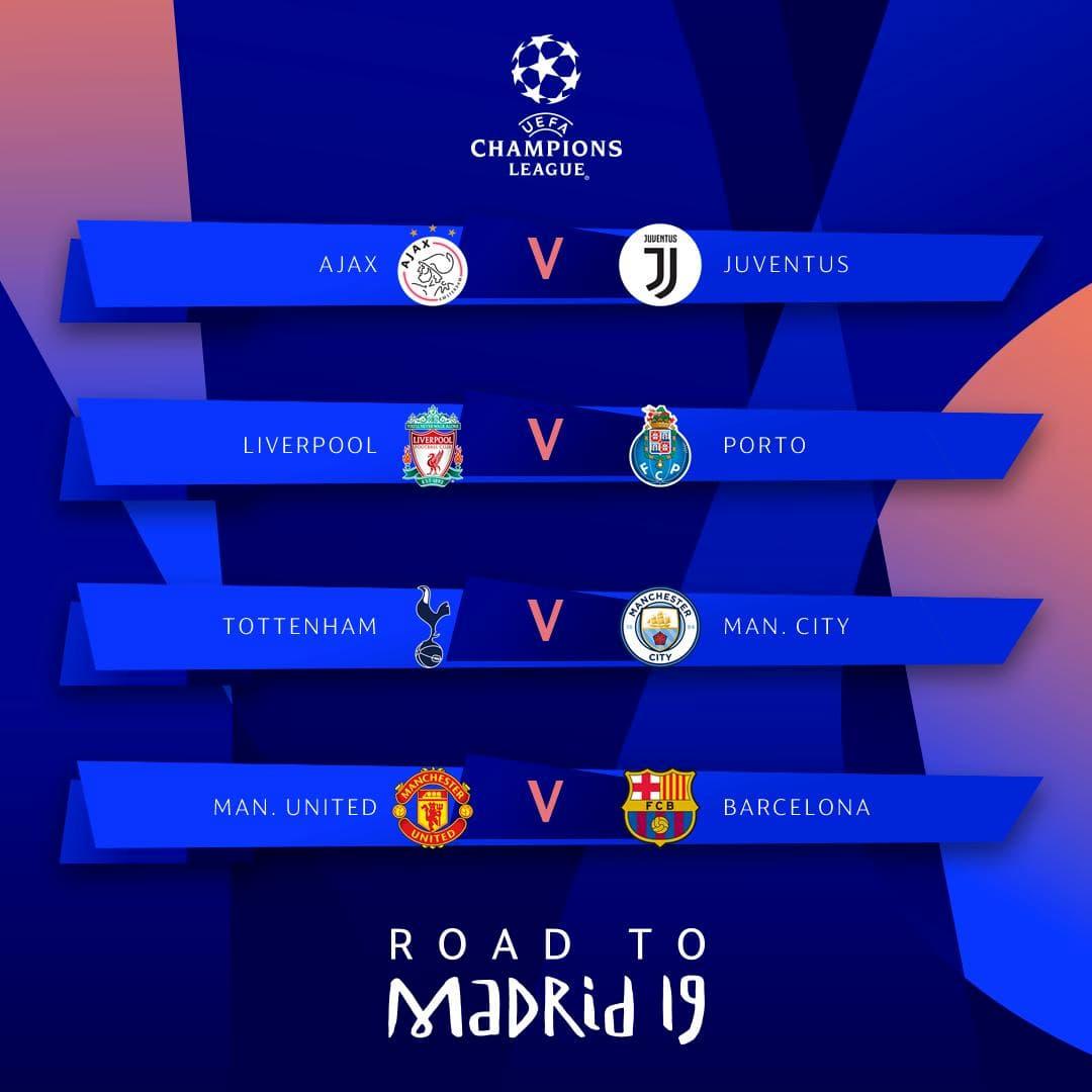 Calendario Champions Quarti.Sorteggi Champions Ed Europa League Chi Affronteranno Juve