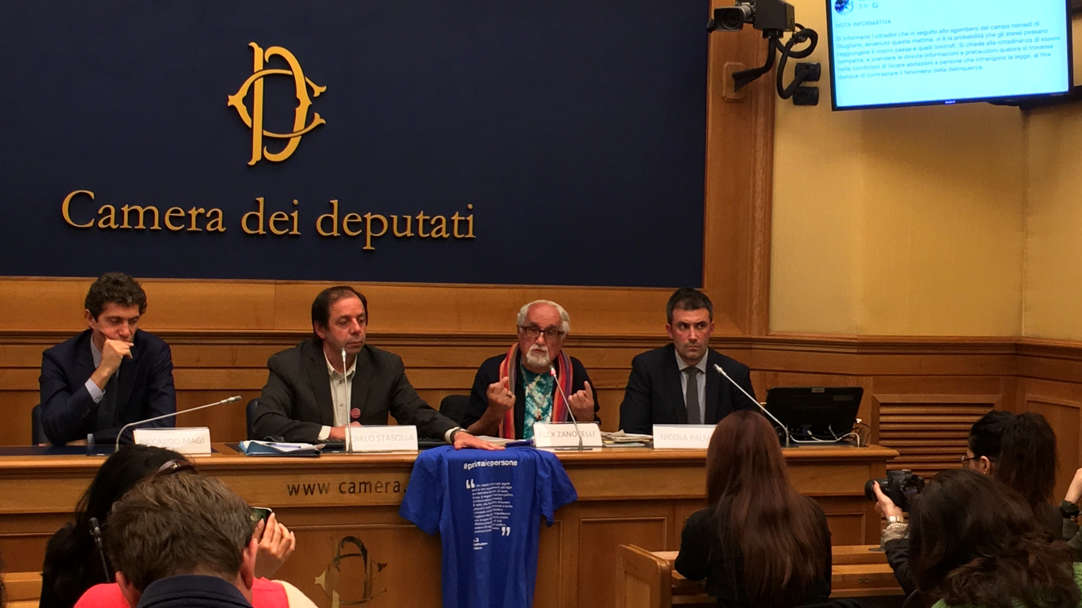 rom giugliano conferenza stampa camera-2