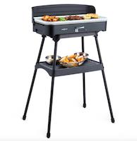 Barbecue con griglia elettrica-2