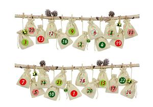 24 sacchetti di tessuto calendario dell?avvento da riempire-2