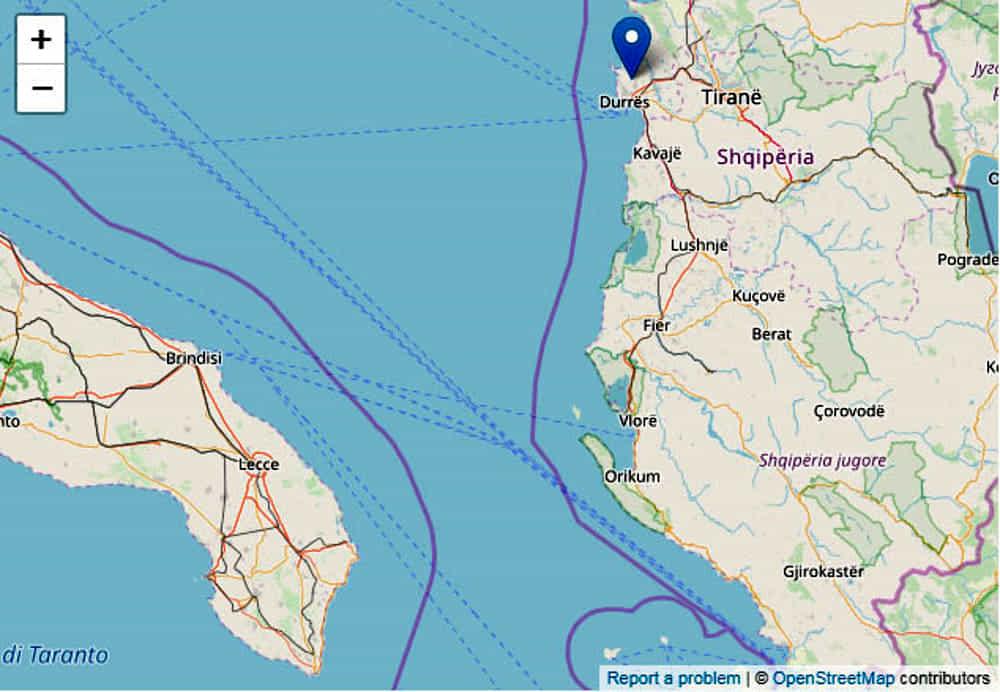 terremoto albania durazzo oggi 26 novembre-2