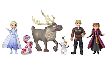 Le mini bambole dei personaggi principali-2