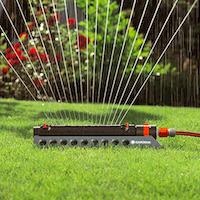 Irrigatore con filtro removibile
