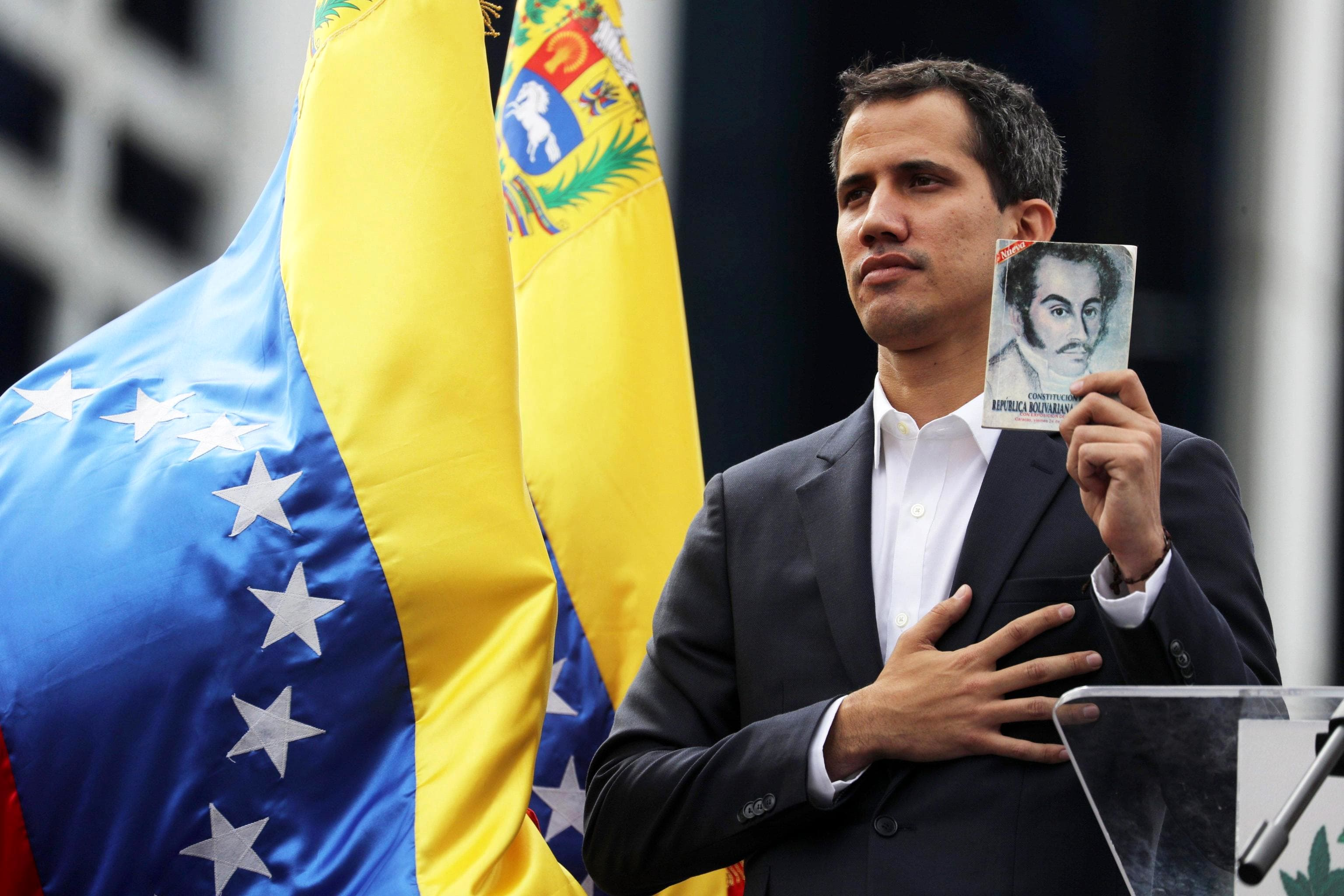 Juan Guaido President of the Venezuelan Parliament-2