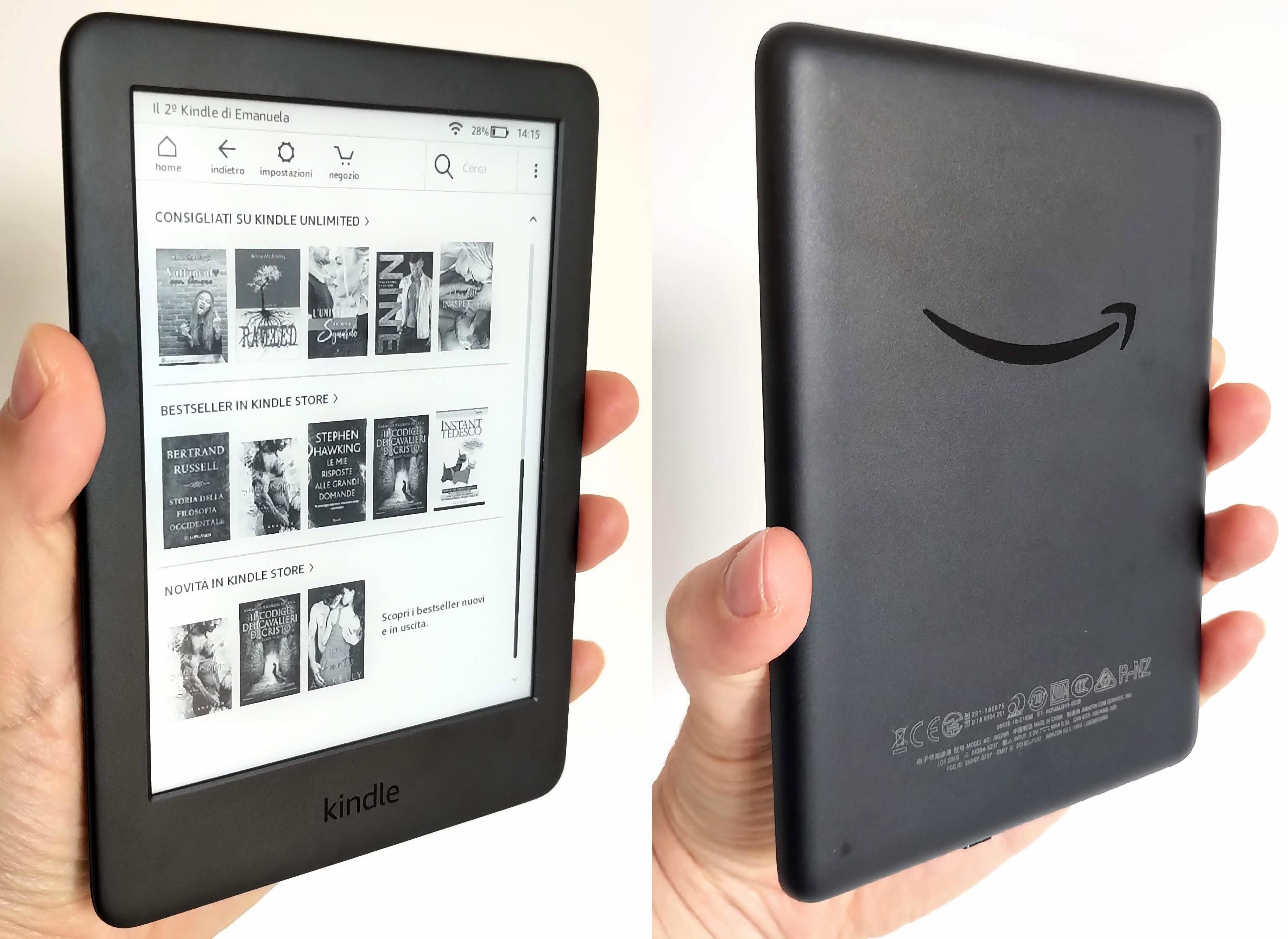Amazon kindle 2019: la recensione del nuovo ebook reader