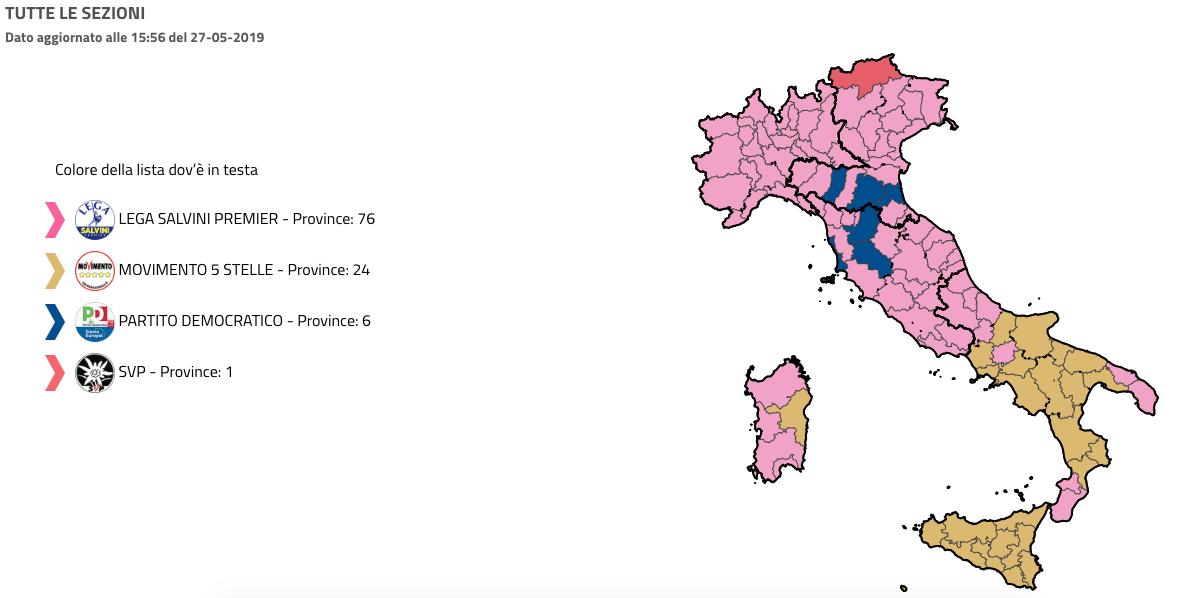 risultati elezioni europee 2019 italia-2
