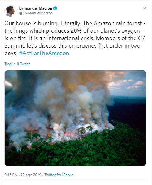 macron amazzonia twitter-2