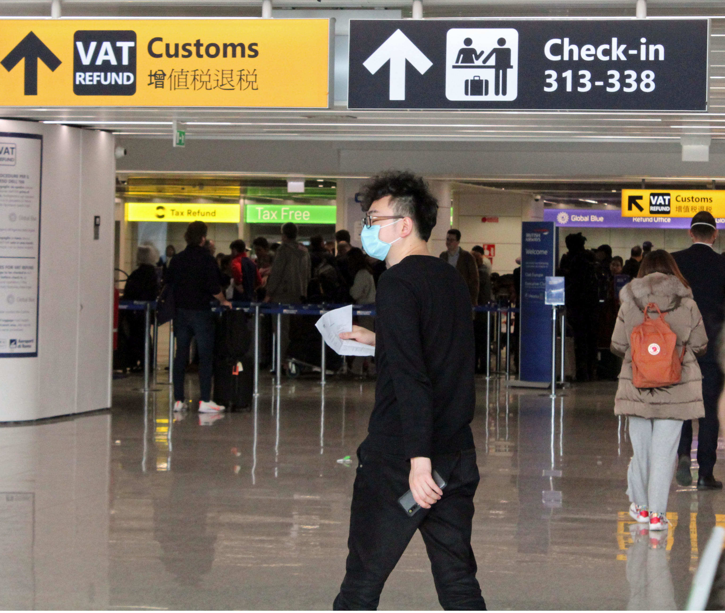 aeroporto fiumicino coronavirus ansa-2