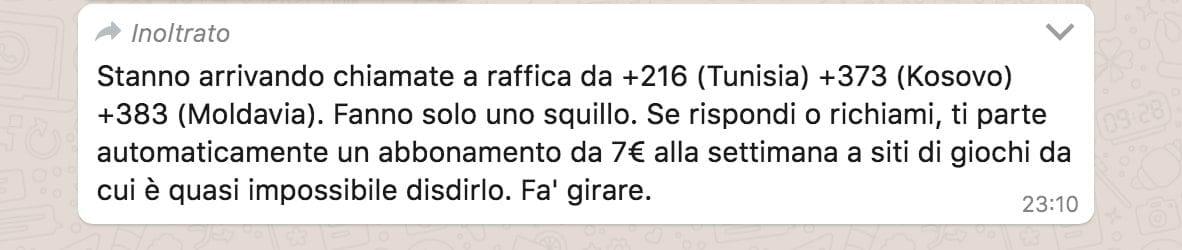 messaggio whatsapp chiamate tunisia-2