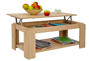 Tavolino con piano sollevabile