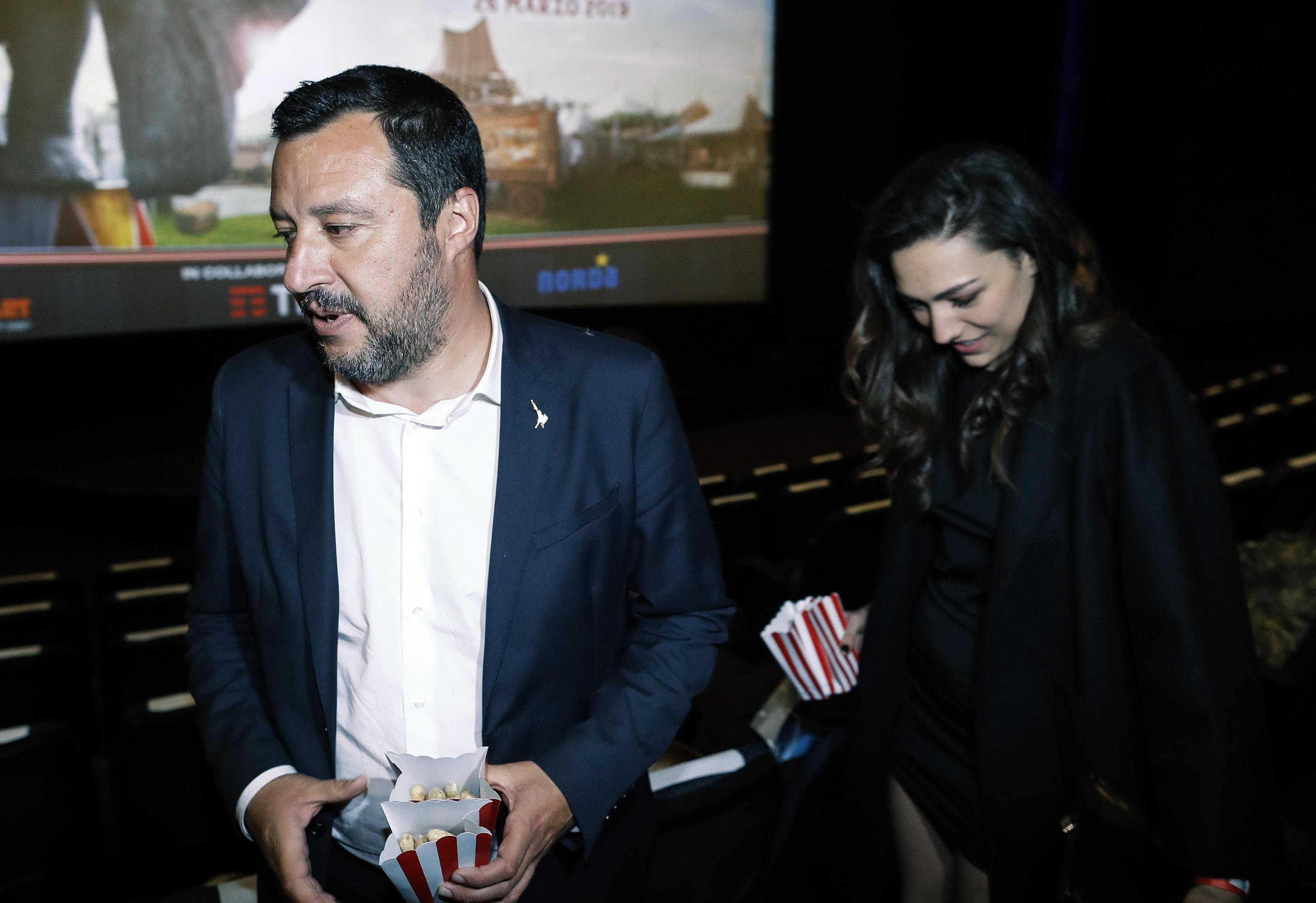 Salvini, Prima Uscita Pubblica Con La Nuova Fidanzata