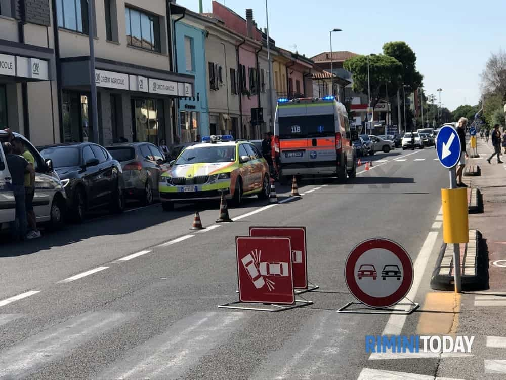 incidente mortale rimini via marecchiese 2-2-2