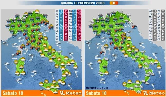 meteo previsioni week end 18 19 maggio-2