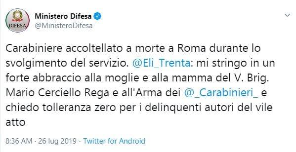carabiniere morto a Roma-2
