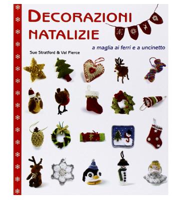 Decorazioni natalizie a maglia ai ferri e a uncinetto-2