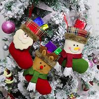 Calze con soggetti natalizi-2
