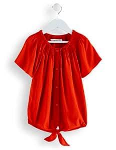 RED-WAGON-Camicia-Colorata-con-Nodo-Bambina-2