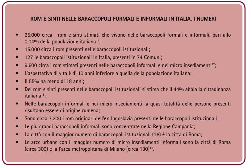 Quanti sono e dove sono i rom in Italia