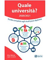Quale università? Anno accademico 2020-2021-2