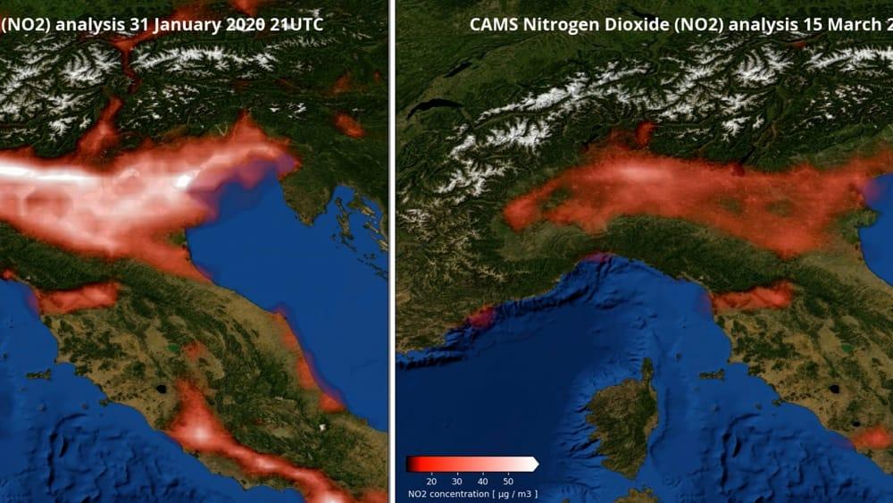 Smog dimezzato in pianura padana: l'altra faccia del Covid-19