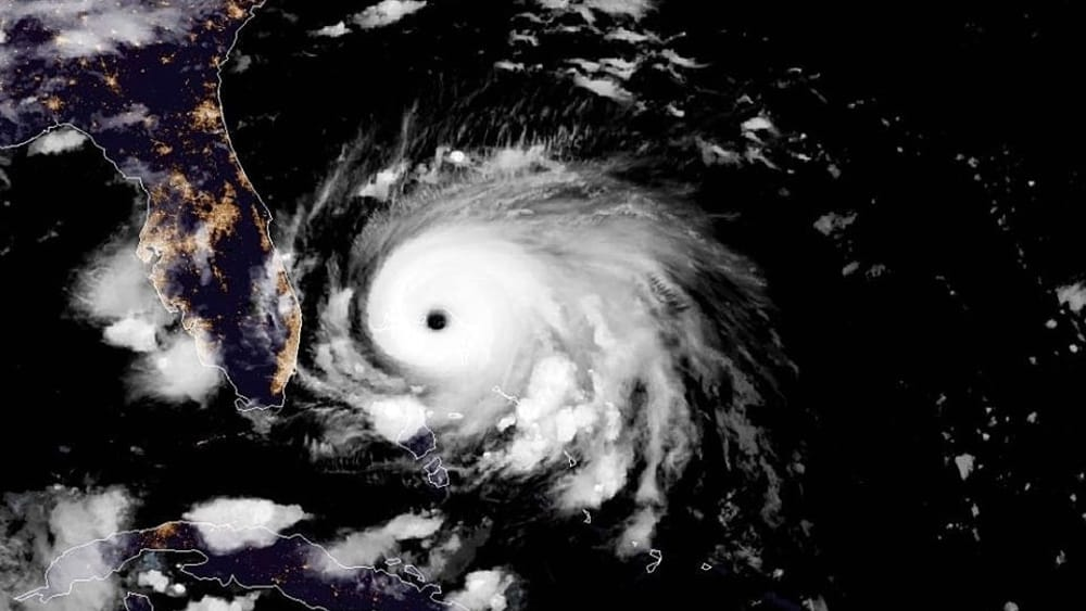 L`uragano Dorian è un mostro,  il più forte uragano della storia moderna .