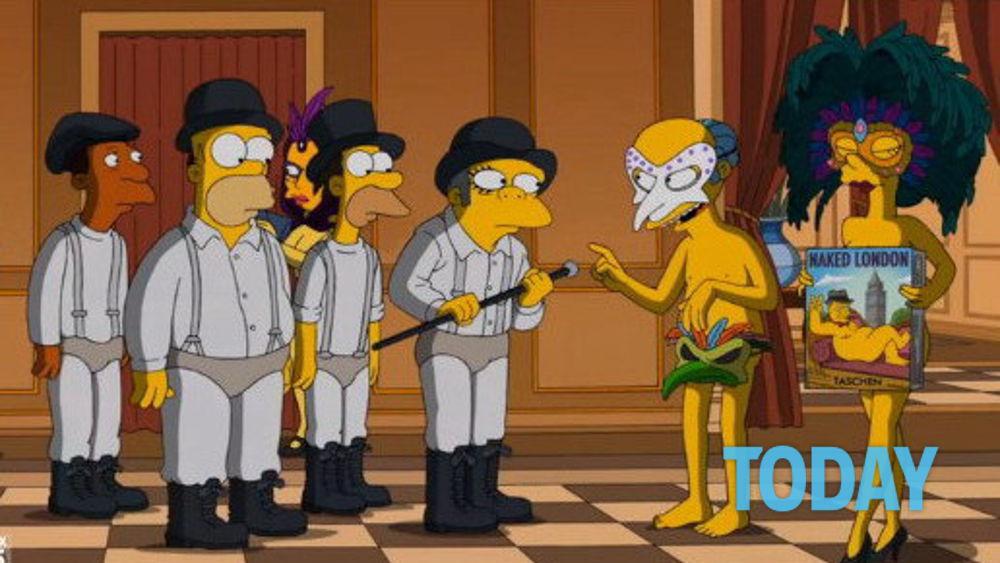 L Omaggio Dei Simpson A Stanley Kubrick Per Hallowen