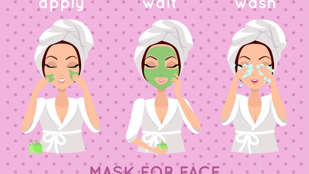 maschera viso home made